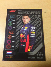 Topps Turbo Attax Formula 1 F1 - Max Verstappen Silver Limited Edition LE2S
