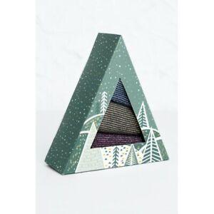 Seasalt Sparkle Socks Box of 3 - Window Stars Mix - SIze UK 3-8 - BNIB