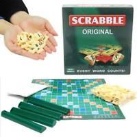 Scrabble Original Kreuzwortspiel Brettspiel Gesellschaftsspiel Englische Version