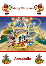 Personalised Disney Mickey Mouse Christmas Card