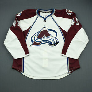 2012-13 Luke Walker Colorado Avalanche Game Issued Reebok Hockey Jersey NHL