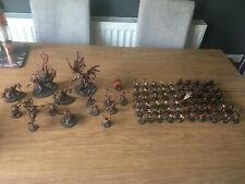 Warhammer Blades of Khorne Army around 2000pts