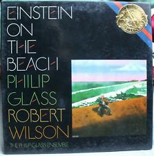 EINSTEIN ON THE BEACH, PHILIP GLASS, ROBERT WILSON, RECORD BOX SET, MINT!