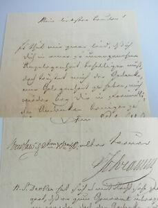 Militare Nobile/ Brief (V.Schramm) Wroclaw 1840, Circa Herzog Di Braunschweig