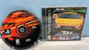 Need for Speed III: Hot Pursuit (Sony PlayStation 1, 1998) with Manual - Tested