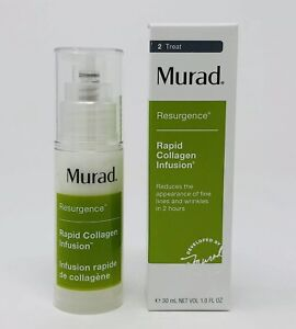 Murad Resurgence Rapid Collagen Infusion Serum 1 oz/30 ml New in box Fresh