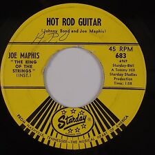 JOE MAPHIS: Hot Rod Guitar STARDAY Rockabilly Monster 45 NM- Wax HEAR