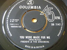 """FREDDIE & THE DREAMERS - YOU WERE MADE FOR ME     7"""" VINYL"""