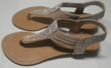 Madden Girl Teager Flip Flops Blush Fab Women's Shoes Size US 6.5  NEW! 88786529