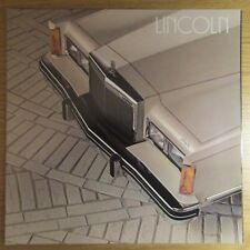 Lincoln Town Car Signature Cartier 5.0 V8 USA American Market brochure 1982