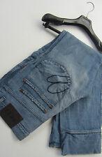 """Paul Smith Jeans """" ROSSO EARRINGS """" SPLENDIDO OBLIQUO tasche blu pallido 81.3cmw"""