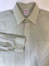 Brooks Brothers Non Iron L/S Dress Shirt Traditional Fit 15 1/2 34