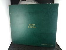 Mind-Power Records - Cambridge Institute (10 Record Set Leather Bound Red Vinyl)