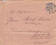 Echte Briefmarken aus Ungarn als Bedarfsbrief