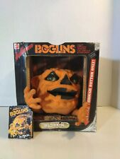 Vintage Halloween Boglins BLOBKIN Puppet glow in dark moving eyes RARE with tag