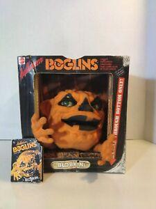 Vintage Halloween Boglins BLOBKIN Puppet glow in dark moving eyes RARE with tag