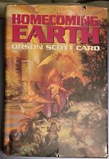 Homecoming Earth by Orson Scott Card (1995 HC) Dust Jacket 1st Edition 1st Print
