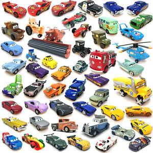 Disney Pixar McQueen Cars Doc Hudson Sally 1:55 Diecast Lot Loose Gift For Boy