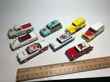 Johnny Lightning Coca Cola series cars and trucks 8 vehicle set