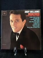"Andy Williams Moon River  CL1809 Mono Columbia 12"" Album 33 rpm vinyl LP"