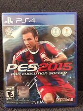 New/Sealed - PRO EVOLUTION SOCCER 2015 PES (Sony Playstation 4, 2014) - has UPC