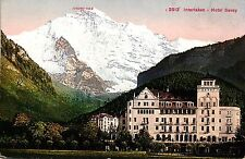 Interlaken, Hotel Savoy, um 1910/20