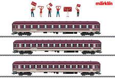 Märklin 43947 Fanzug-Wagenset Euro Express (MHI) 3teilig ++ NEU in OVP
