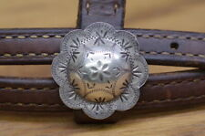 Vintage * Sterling * Silver * Headstall
