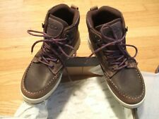 New Women ECCO Track 25 Rold Mid GTX Hiking Boots Waterproof Leather 831703 6.5