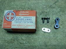 Skip Tooth Bicycle Chain Master Link Repair Kit Schwinn Elgin Shelby Monark &&