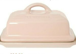 Le creuset stoneware butter dish pink