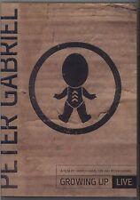 PETER GABRIEL - Growing up - DVD EDITORIALE L'ESPRESSO OTTIME CONDIZIONI