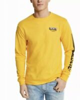 Nwt Levi's Logo Long Sleeve T-Shirt Yellow Graphic Tee  New Size Large