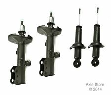 Full Set 4 New Struts with Ltd Lifetime Warranty Fits Toyota Corolla 1.8L Only