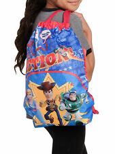 "Disney Pixar Toy Story 4 Kids 15"" Sling Bag Woody Buzz Bo Peep Forky Red"