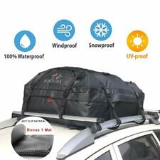 ROKIOTOEX RTB3943 Waterproof Canvas Cargo Storage Roof Bag W/ Mat - 16 CUFT CPTY