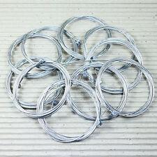 BREMSZUG mit Nippel für MTB oder Rennrad - Set mit 10 Stück - 2000 MM - Ø 1,5 mm
