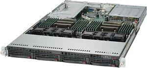 Build Supermicro Server 1U X10DRU-i+ up to 2x E5-2680 V3 128GB 4TB Dual PS Rails