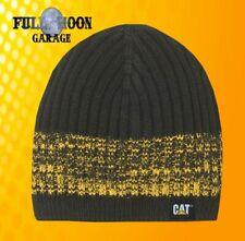 18aff4ca New Caterpillar Squall Knit Cat Work Mens Cap Hat Black Beanie