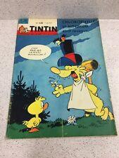 TINTIN  N°730 14e ANNEE 18 OCTOBRE 1962 REVUE MAGAZINE VINTAGE