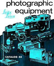 1971 LEICA CAMERA FACTORY CATALOG BROCHURE -M5-M4-LEICAFLEX