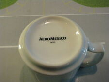AEROMEXICO AIRLINES GLASS COFFEE CUP