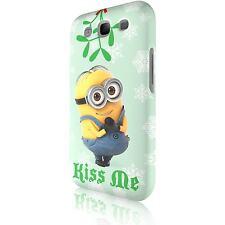 "Minion ""Kiss Me"" Tasche Cover Case Schutzhülle für Samsung Galaxy S3 i9300"