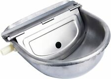 New listing New! Automatic Waterer Bowl Farm Grade Stainless Stock Waterer Sheep Dog Water