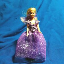 "Ooak ""Purple Sparkle"" Kenner Glamour Gal Vanessa in custom gown Free Ship"