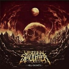 "Visceral Slaughter ""Hell On Earth"" CD [BRAZILIAN BRUTAL GORE HATRED DEATH METAL]"