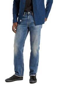 Levi 'S 514 Bleu Coupe Droit Standard Classique Jean Taille W30 W32 W34 W36 W38