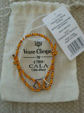 Veuve Clicquot Champagne Charm Bracelet By 1789 CALA Brand New in Pouch, Rare