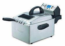 Waring Pro DF280 1800-Watt With Digital Timer Deep Fryer Brushed Stainless Steel