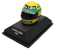 Minichamps 1/8 Senna Lotus Renault Casque Helmet 1986